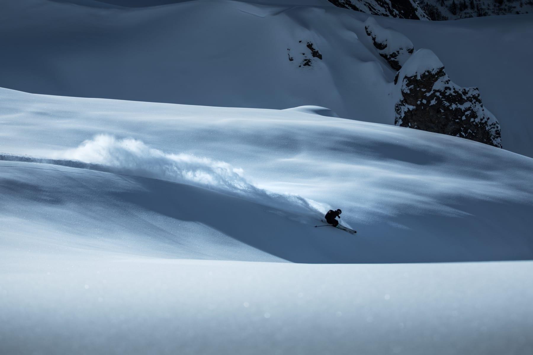 Lech Freerider Skifahren